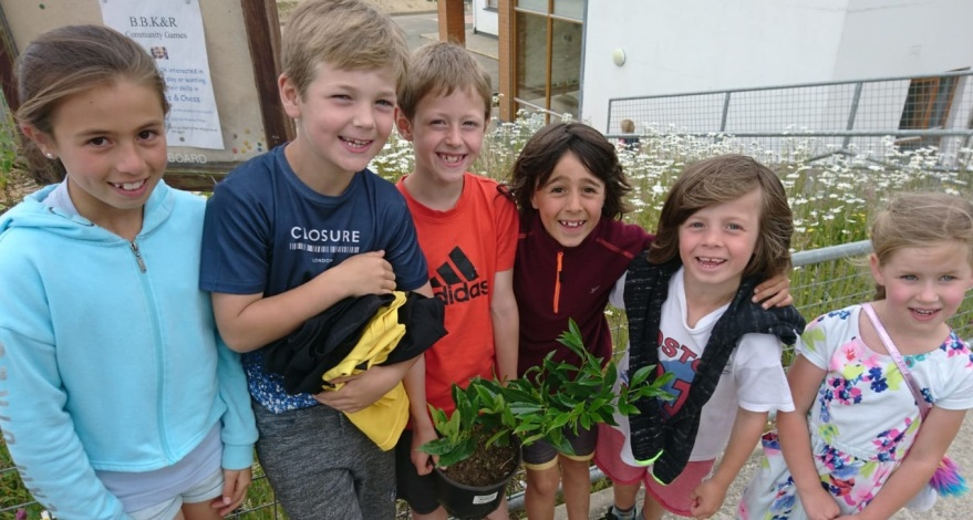 Garden Day Brittas Bay National School