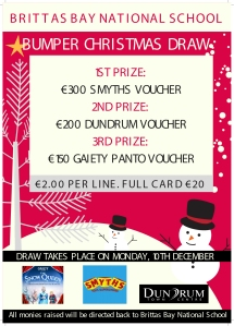 Brittas Bay Christmas Draw Poster-01