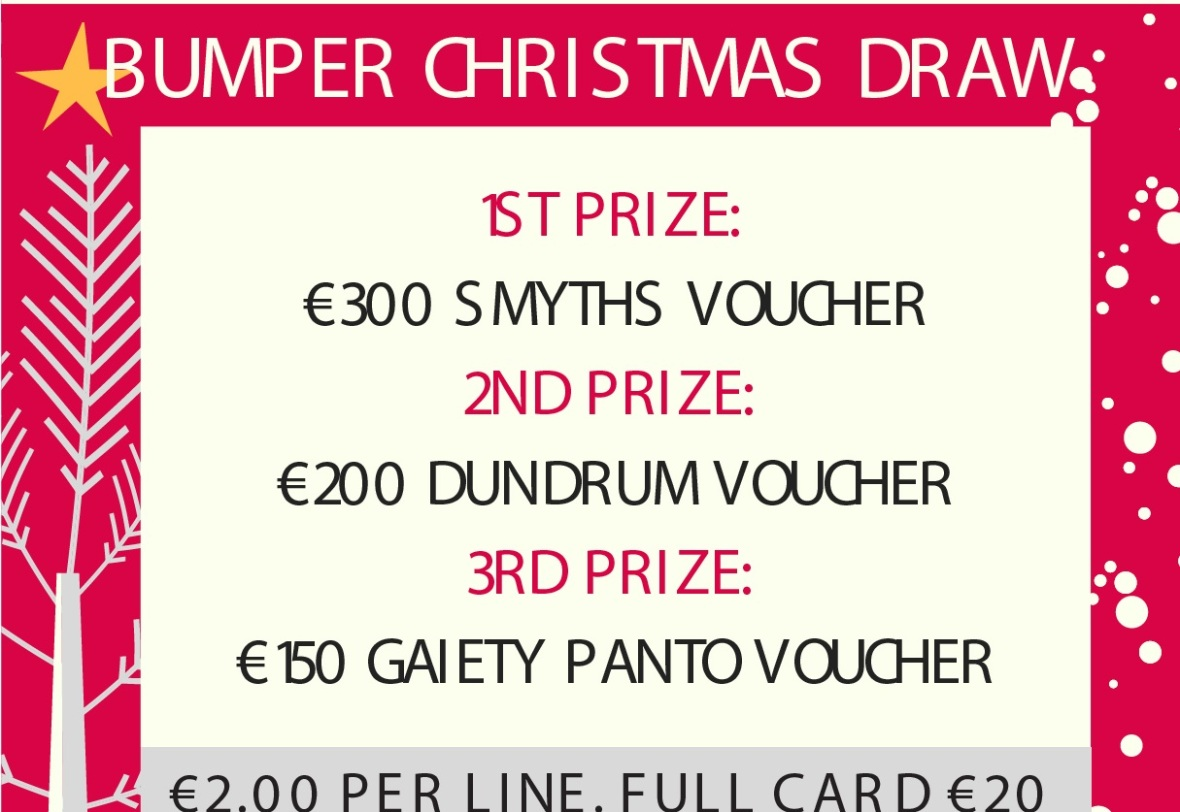 Brittas Bay Christmas Draw Poster-crop