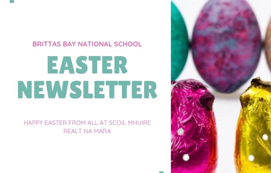 Easter newsletter Brittas Bay School