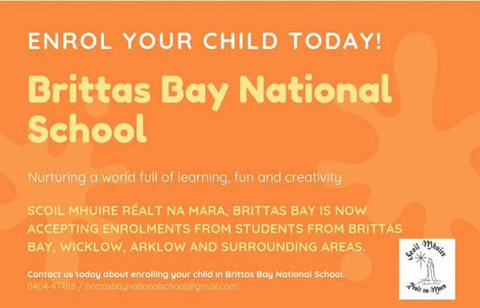 Enrolment Brittas Bay National School