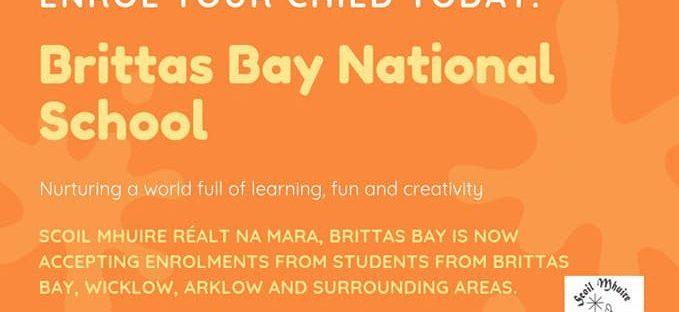 Enrolment Brittas Bay National School