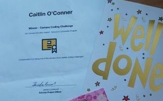 Caitlin O'Connor Coding Prize